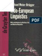 [Michael Meier Brugger] Indo European Linguistics