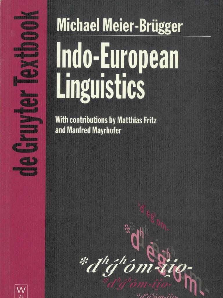 C 2.1: Historical linguistics, language change and comparative philology