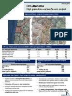 Oro Atacama - PDAC Vf