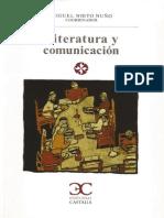 Nuevos Horizontes de los Estudios Literarios