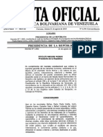 Gaceta Oficial Extraordinaria Nº 6.194