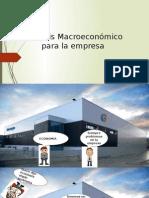 Análisis Macroeconómico Para La Empresa