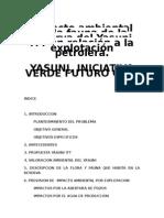 ANALISIS DE IMPACTO AMBIENTAL EN LA RESERVA DEL YASUNI