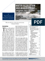 Water Allocation and Management