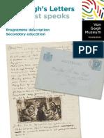 VanGoghMuseum Programme Description Van Goghs Letters UK