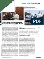 Le retour de la francophonie en Louisiane - Le Parisien Magazine - Juillet 2015