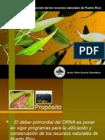 Estrategias de Departamento de Recursos Naturales y Ambient