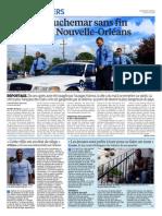 Criminalité à la Nouvelle Orléans - Le Parisien - 17 aout 2015