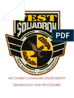 TEST 404th Air Combat Communications Brevity