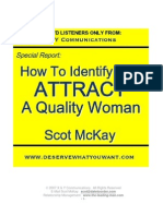How to Identify and Attract a Quality Woman