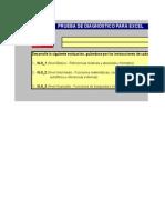Ejercicio Diagnostico Excel
