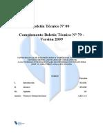 Boletín Técnico Nº 80