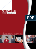 Signature Listing Presentation