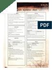 SAGA Quick Reference Sheet