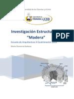 Investigacion Estructuras II Madera 2-2015