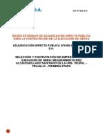 Bases Adp 0008-2013-Ejecucion Obra de Trupal