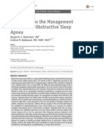 An Update on the Management of Pediatric Obstructive Sleep Apnea