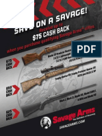 2015 Fall Savage Arms Rebate