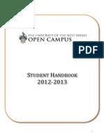 UWIOC Student Handbook 12 13