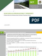 F_Barajas_Presentación Subsecretario Mazatlan 2012 -El Desarrollo de La Infraestructura Carretera Presen