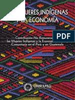 Las mujeres Indígenas y la Economía