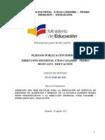 PE-D17D10E-007-2015 Escuela Alfredo Boada Espín