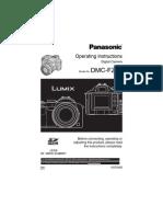Panasonic Lumix DMC-FZ50 Manual