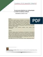 A natureza dos processos históricos na Antropologia