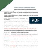 Influencia Del PH Sobre La Absorción y Eliminación de Fármacos