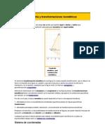 Isometría y Transformaciones Isométricas