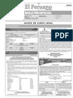 13-06-15 Boletin Diario Peruano