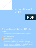 The Land Acquisition Bill 2007
