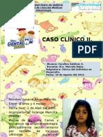CARO SALDIVAR Caso Clinico de Pediatria II 1