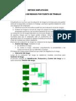 Evaluación de Riesgos (Método Simplificado) - Para Combinar011014