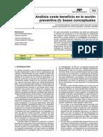 Ntp-982Análisis Coste Beneficio en La Acción