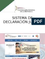 Sistema declaracion jurada
