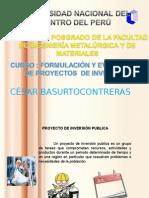 PROYECTOS PUBLICOS