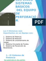 Los Cinco Sistemas Básicos de La Perforacion
