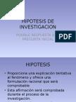 Investigacion Hipotesis