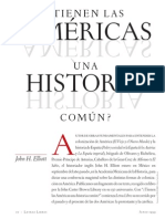 Elliott. Tienen Las Américas Una Historia Común (1999)