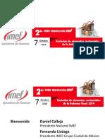 IMEF_Foro Tributacion - 20141007