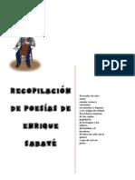 Recopilación de Poesías de Enrique Sabaté1