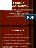 Hrm Learning Organizations Ppt