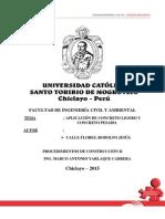 Aplicacion Del Concreto Ligero y Pesado