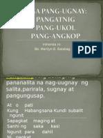 Mga Pang Ugnay