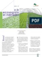Cultivo Ecológico en Invernadero