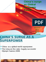 China's Surge as a Global Economic Power
