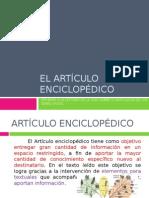 175860174 El Articulo Enciclopedico El Vocabulario Tecnico y La Oracion Pasiva 7 Basico 10 de Octubre 2013