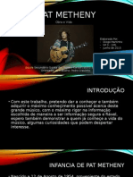 Obra e Vida de Pat Metheny