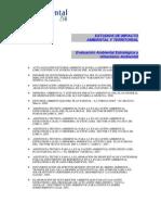Estudios de Impacto Ambiental y Territorial